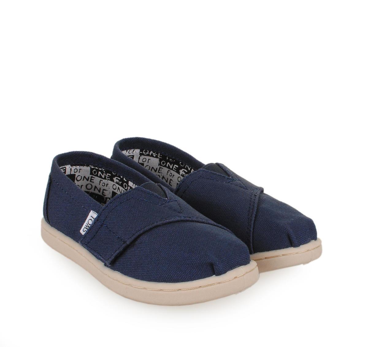 Παιδικά παπούτσια εσπαντρίγιες TOMS CLASSIC UNISEX (NAVY) fd5372b845c
