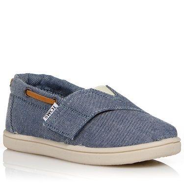 Παιδικά παπούτσια τζιν από την Toms.Υφασμάτινα και με ελαστικό V 47e229b60e0