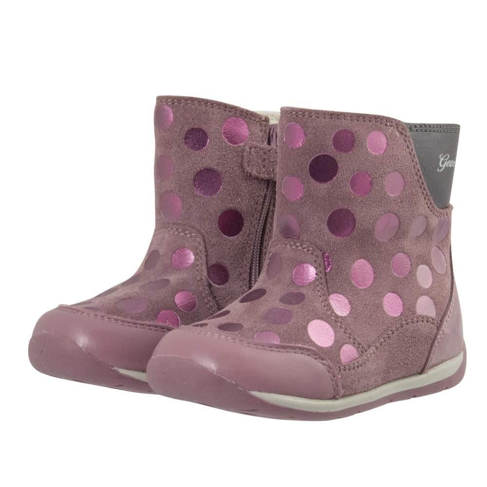 7f2d432622b Παιδικά παπούτσια μποτάκια Geox για κορίτσι B Each-B740AA - HappyEarth