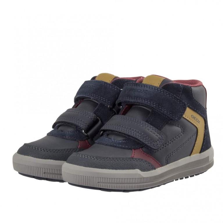 d320377bf63 Παιδικό παπούτσι μποτάκι Geox για αγόρι. J744AB - HappyEarth