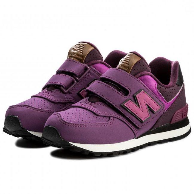 Παιδικά αθλητικά παπούτσια για κορίτσι New Balance KV574YEY - HappyEarth 0a3d734849c