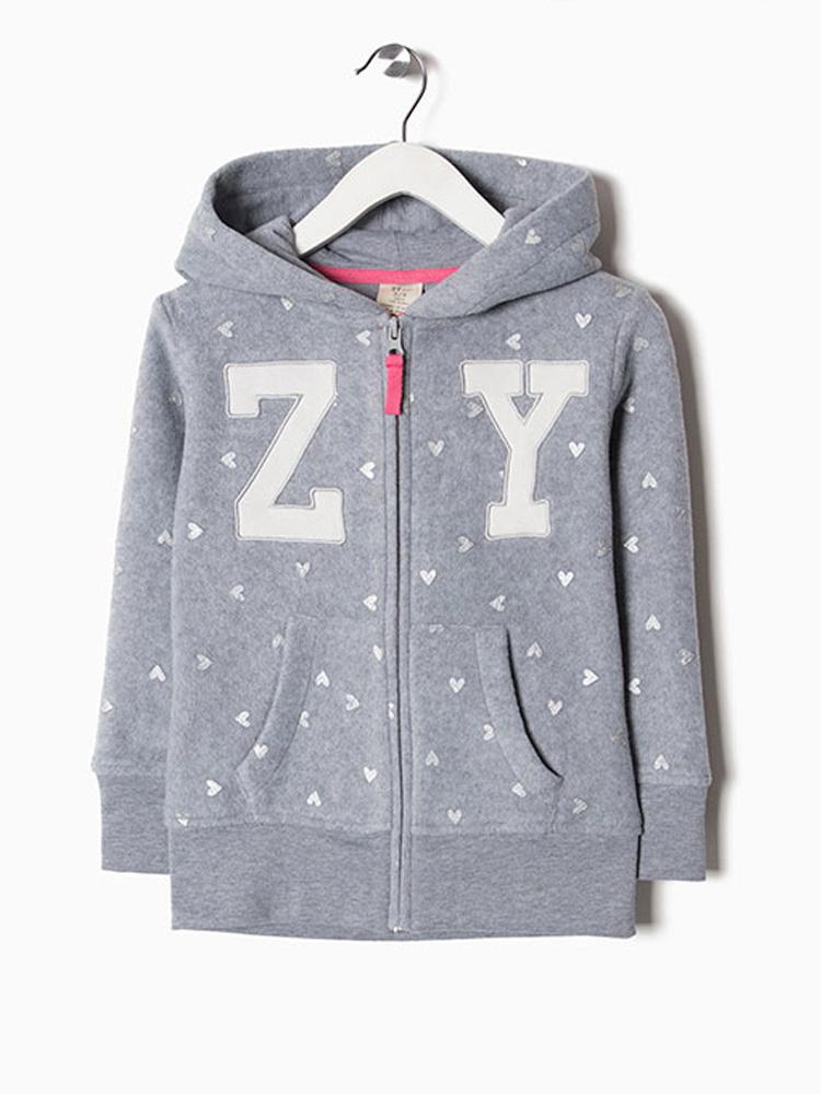 b1aad529493 Παιδική ζακέτα για κορίτσι fleece zippy 6590358 - HappyEarth