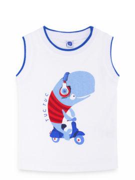 Παιδική μπλούζα αμάνικη μακό βαμβακερή παιδικό αμάνικο μπλουζάκι tuc tuc 11280379