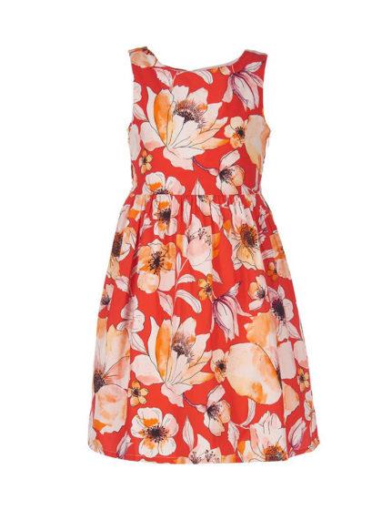 Marasil Παιδικό φόρεμα, ένα εντυπωσιακό floral ανάλαφρο και χαρούμενο φορεματάκι