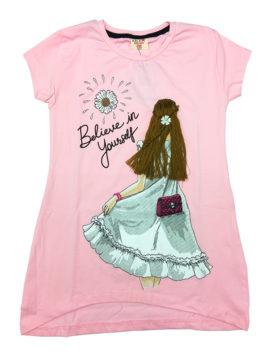 Παιδική μπλούζα σε ροζ χρωματισμούς Happy Collections