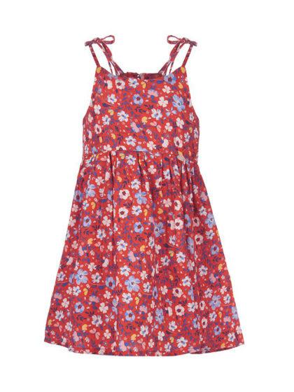 Marasil Παιδικό φόρεμα floral happy earth
