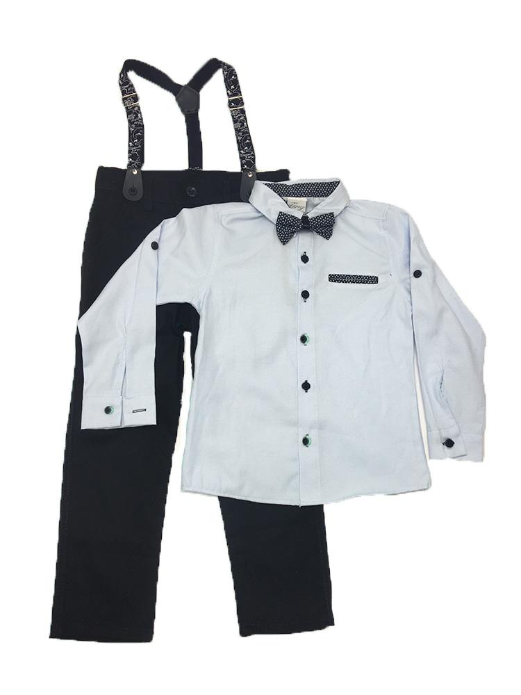 Παιδικό καλό ντύσιμο για αγόρι, ολοκληρωμένο εποχιακό σετ happy collection