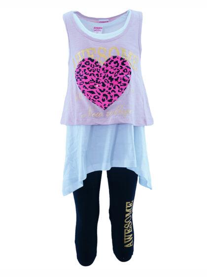 μπλουζοφόρεμα Παιδικό σετ για κορίτσι