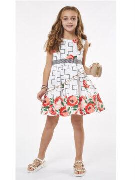 Παιδικό φόρεμα φλοράλ
