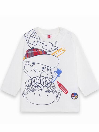 Παιδική μπλούζα για αγόρι Tuc Tuc 11290142 τα φιλαράκια