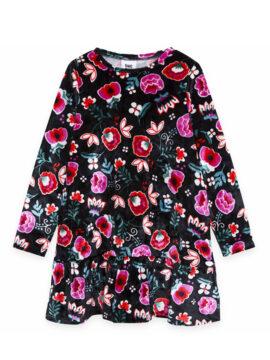 Παιδικό φόρεμα βελουτέ tuc tuc 11290478 φλοράλ