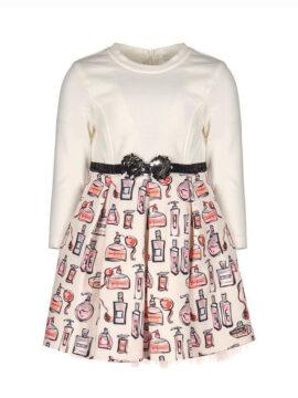 Παιδικό φόρεμα σε εκρού χρώμα marasil