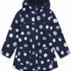 Παιδική καμπαρτίνα μπουφάν tuc tuc με επένδυση φλις και κουκούλα
