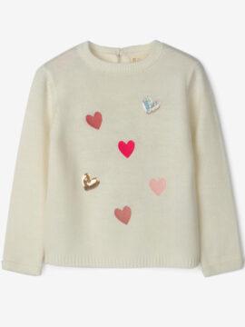 Παιδικό πουλόβερ για κορίτσι zippy zg0201-470-15