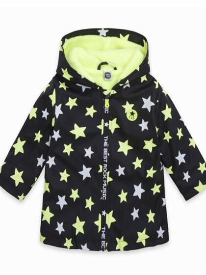 Παιδικό αδιάβροχο μπουφάν tuc tuc με επένδυση φλις και κουκούλα