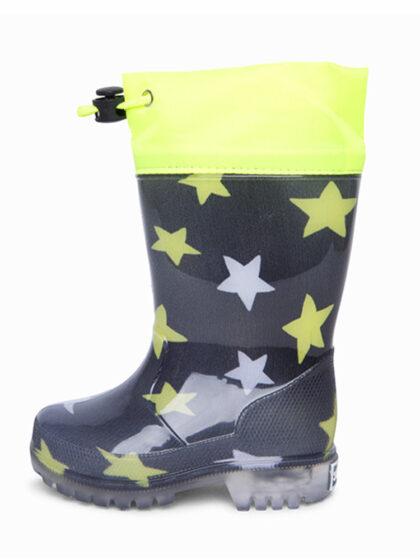 Παιδικές γαλότσες unisex tuc tuc 11290245 με αστεράκια και φωτακια