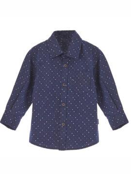 Marasil παιδικό πουκάμισο 22011937 σε μπλε χρώμα