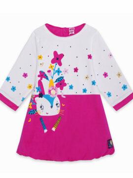 Tuc Tuc παιδικο φόρεμα φούτερ μπαλού 11290247