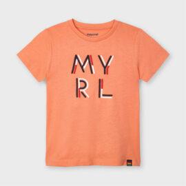 παιδικό κοντομάνικο μπλουζάκι mayoral