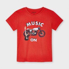 Mayoral μπλούζα μακό για αγόρι 21-03049-068 ροκ μοτίβο