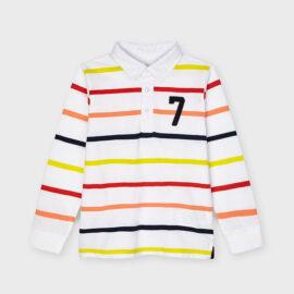 Mayoral μπλούζα πόλο για αγόρι 21-03114-084 μακρυμάνικη
