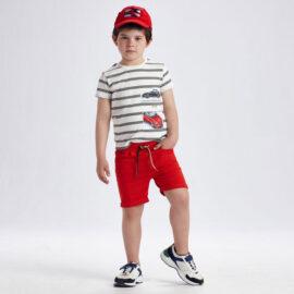 Mayoral παιδική βερμούδα για αγόρι 21-03238-091 κόκκινη