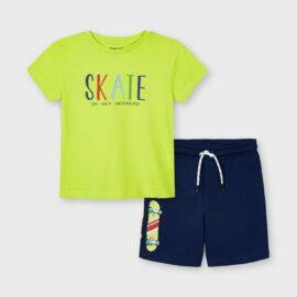 Mayoral παιδικό σετ μακό για αγόρι 21-03643-047 με skate
