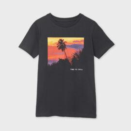 Mayoral μπλούζα μακό για αγόρι 21-06091-082 εφηβική