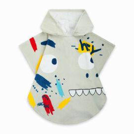 Παιδικό μπουρνούζι για αγόρι tuc tuc poncho 11300147