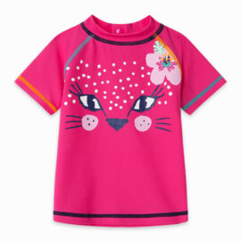 Αντιηλιακό μπλουζάκι UV50 tuc tuc για κορίτσι 11300329