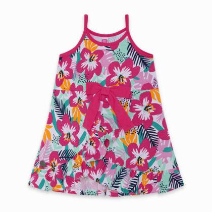 Παιδικό μακό φόρεμα φλοραλ tuc tuc 11300328 τιραντάκι