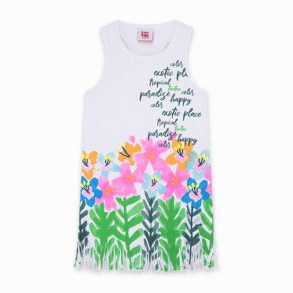 Παιδικό μακό φόρεμα φλοραλ tuc tuc 11300440 exotic