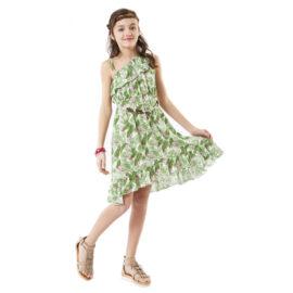 Εβίτα εφηβικό φόρεμα 6167 ριχτό ανάλαφρο με έναν ώμο