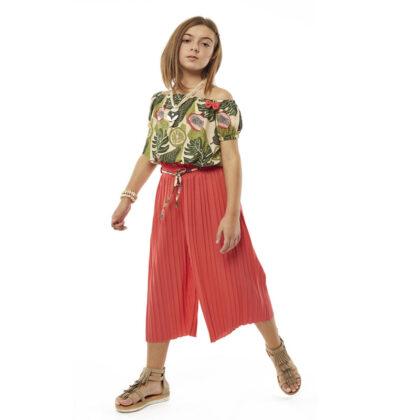 Εβίτα εφηβικό σετ παντελόνα τοπ 214033 ανάλαφρη αισθηση